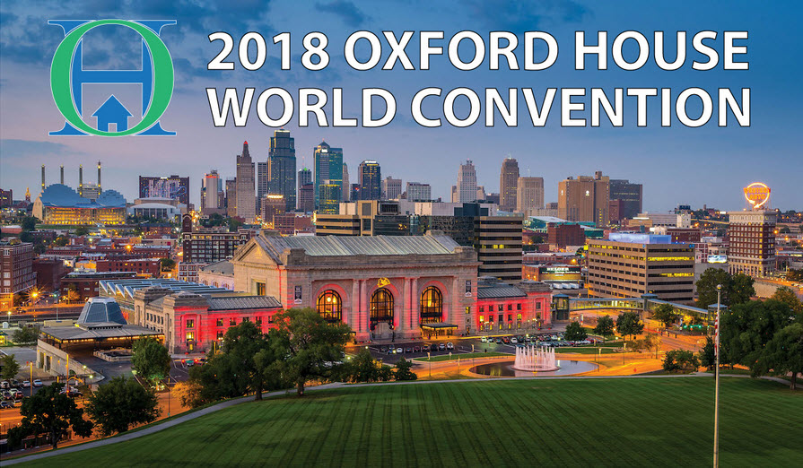 2018 Oxford House Convention Registration